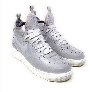 Nike Women's Air Force 1 Ultraforce Mid- Vast Grey